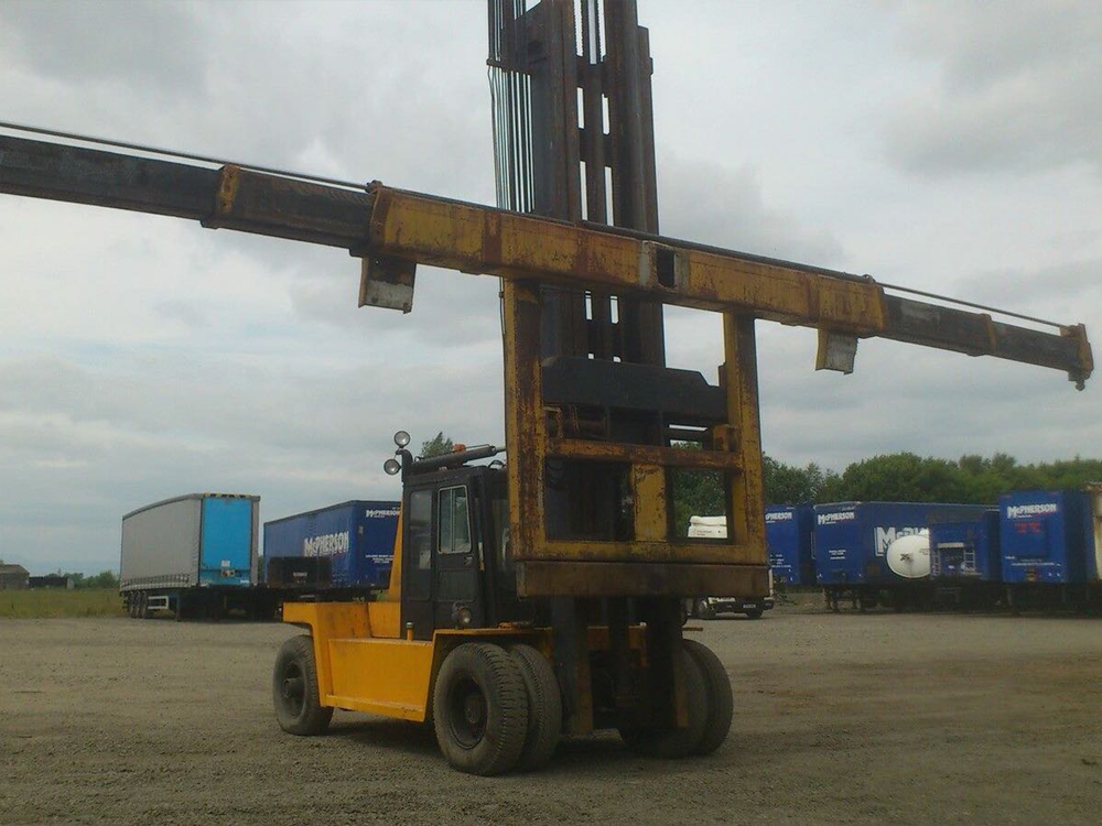 Container Forklift Shipped Sri Lanka