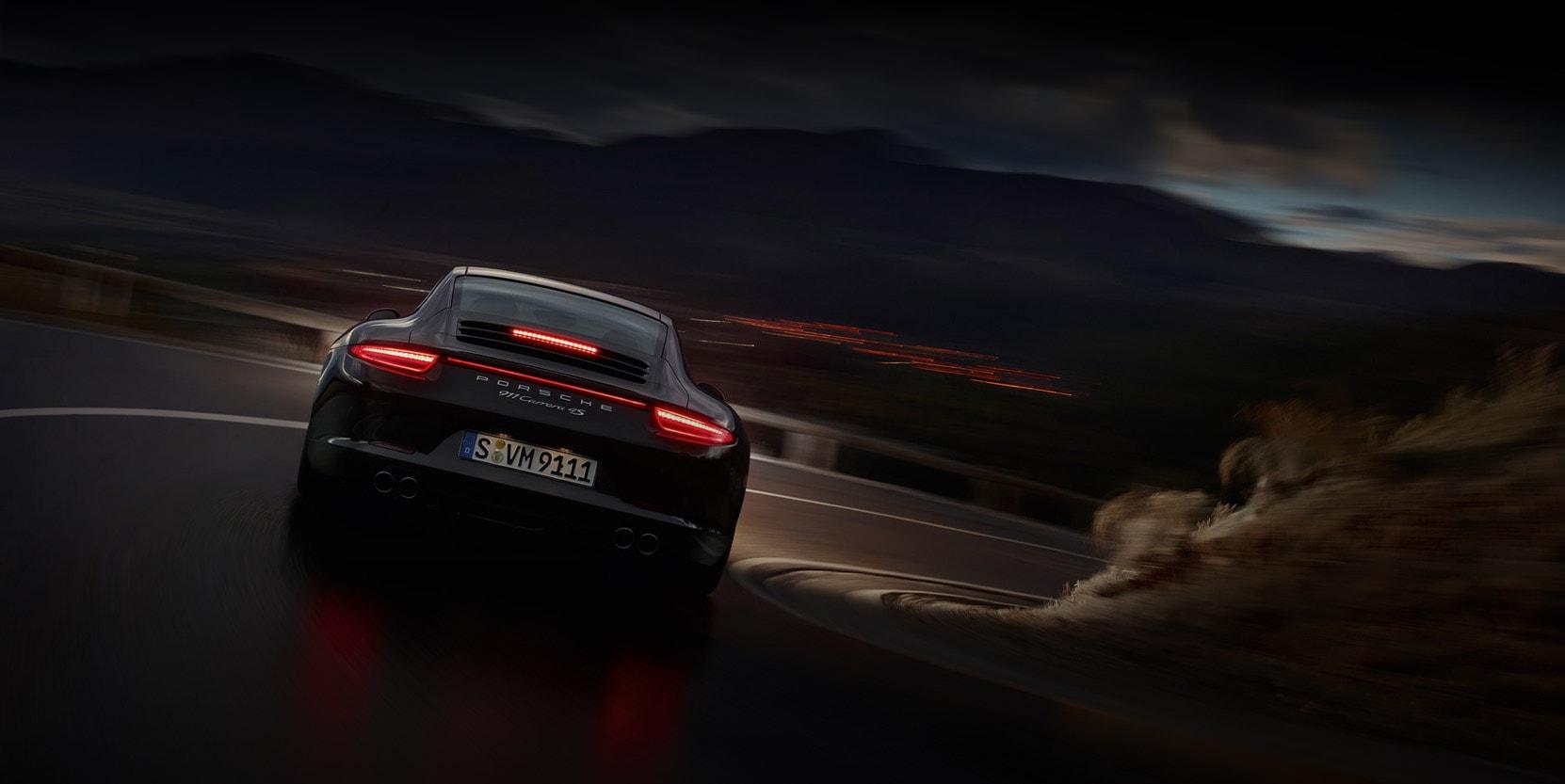 Porsche 911 2018 model